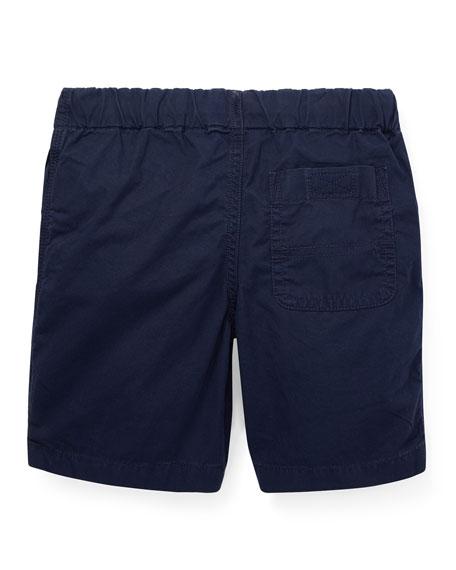 Ralph Lauren Childrenswear Cotton Drawstring Shorts, Size 2-4