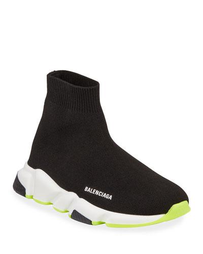 Speed Mid-Top Trainer Sock Sneakers  Toddler/Kids