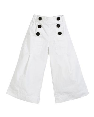Taren Wide Legs Sailor Pants  Size 3-14