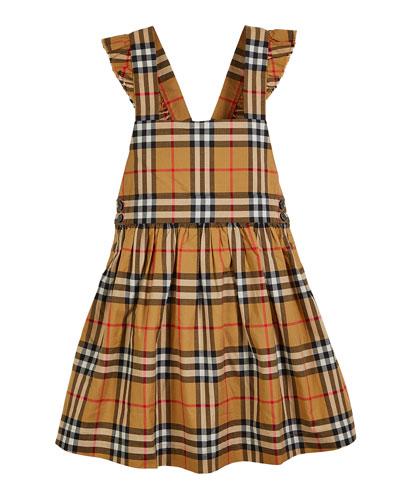 Livia Check Sun Dress  Size 3-14