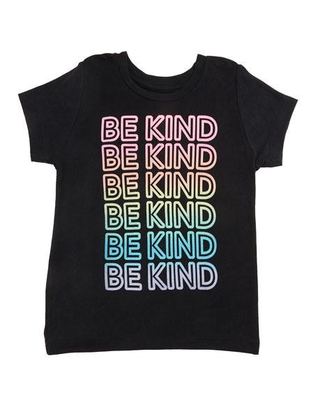 Flowers By Zoe Be Kind Short-Sleeve Tee, Size S-XL