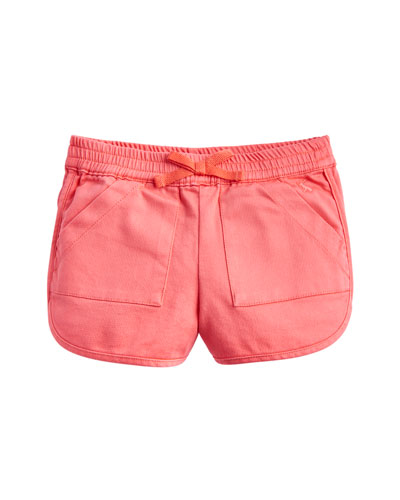 Becca Cotton-Stretch Shorts  Size 3-10