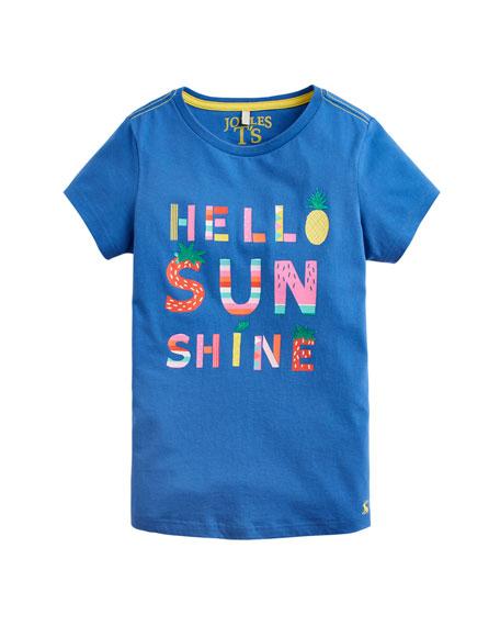 Joules Pixie Hello Sunshine Tee, Size 3-10