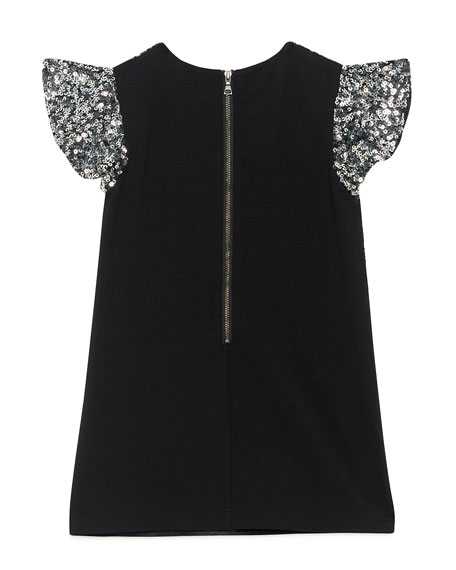 Bardot Junior Selma Ombre Sequin Dress, Size 8-16