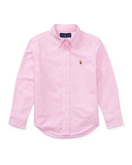 Ralph Lauren Childrenswear Oxford Sport Shirt, Size 4-7