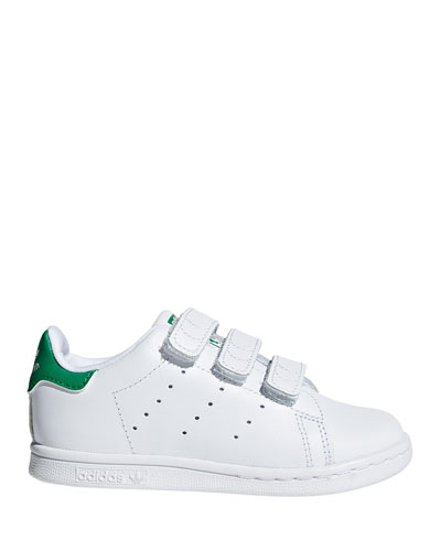 Kids' Stan Smith Classic Grip-Strap Sneakers  Baby/Toddler