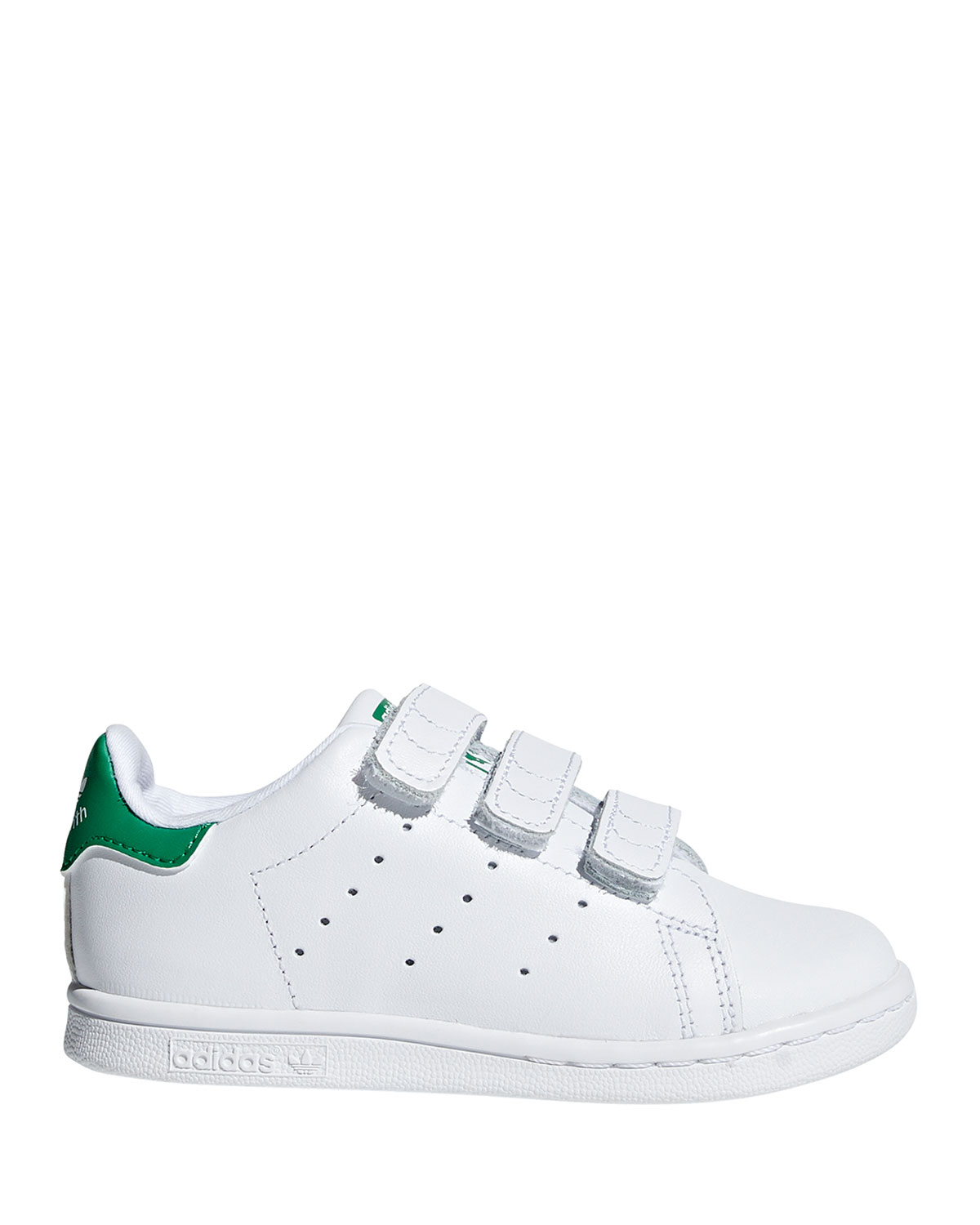 Kids' Stan Smith Classic Grip Strap Sneakers, BabyToddler