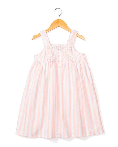 Petite Plume Charlotte Modern Stripe Nightgown, Size 6M-14