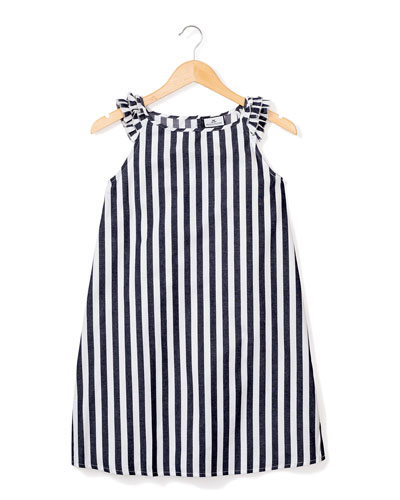 Amelie Modern Stripe Nightgown  Size 6M-14