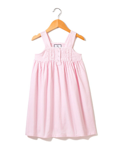 Charlotte Seersucker Nightgown  Size 6M-14