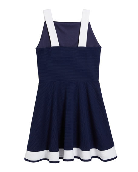 Sally Miller The Bridget Colorblock Fit-and-Flare Dress, Size S-XL