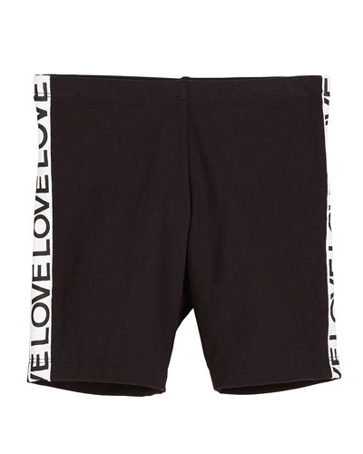 Stretch Bike Shorts w/ Love Taping  Size S-XL