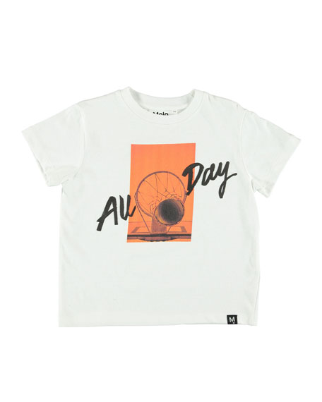 Molo Roxo All Day Basketball Graphic T-Shirt, Size 4-12