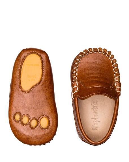 Elephantito Leather Moccasin, Baby