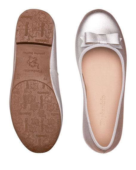 Elephantito Camille Metallic Leather Flat, Toddler/Kids