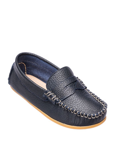 Alex Leather Driver Loafer  Toddler/Kids