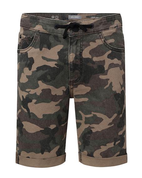 DL1961 Premium Denim Boys' Jax Camo Utility Shorts, Size 8-18