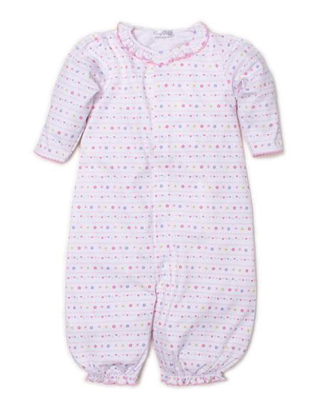Kissy Kissy Unicorn Magic Printed Convertible Sleep Gown, Size Newborn-Small