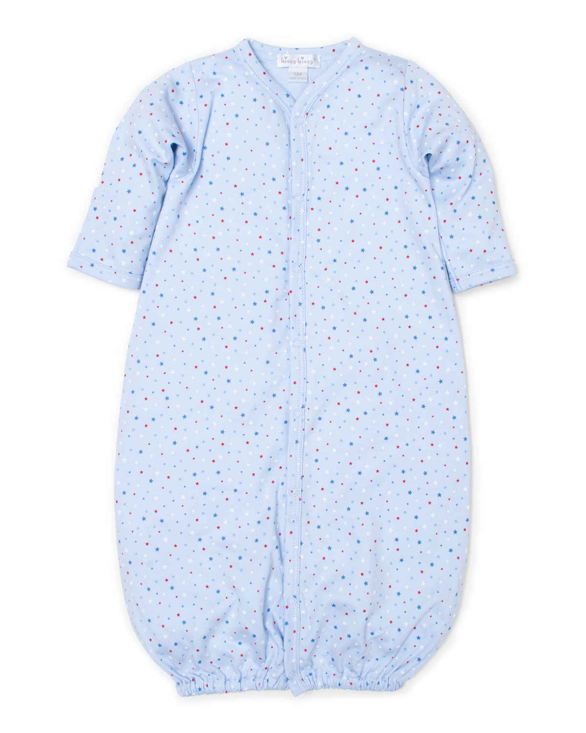 Kissy Kissy Baby-Boys Infant Jungle Party Print Convertible Gown