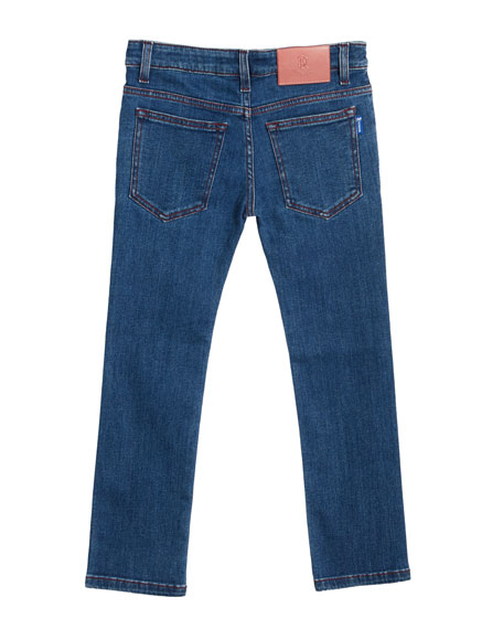 Stefano Ricci Kids' Denim Sport Trousers, Size 6-10