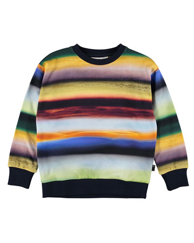 Madsim Rings of Saturn Print Sweatshirt  Size 4-12