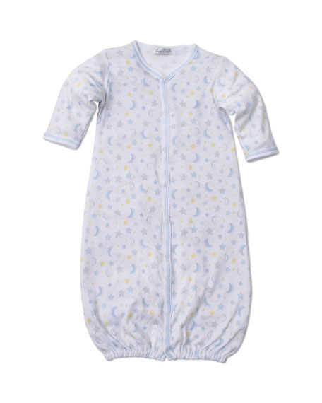 Kissy Kissy Super Stars Printed Convertible Sleep Gown, Size Newborn-Small