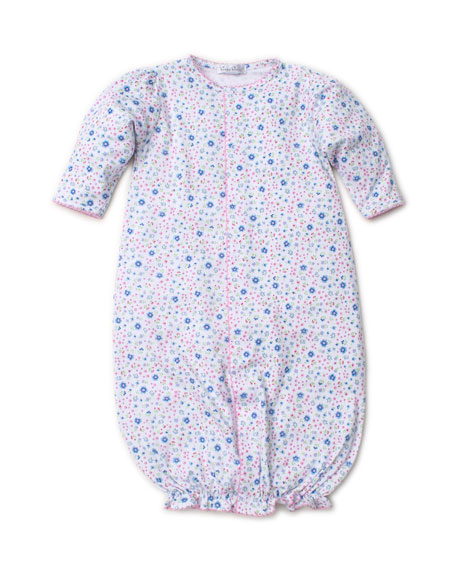 Kissy Kissy Garden Treasure Printed Convertible Sleep Gown, Size Newborn-Small