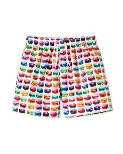 Boys' Macaron Swim Trunks  12M-10