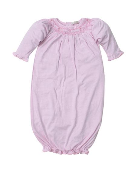 Kissy Kissy Fall Bishop Printed Convertible Gown, Size Newborn-Small