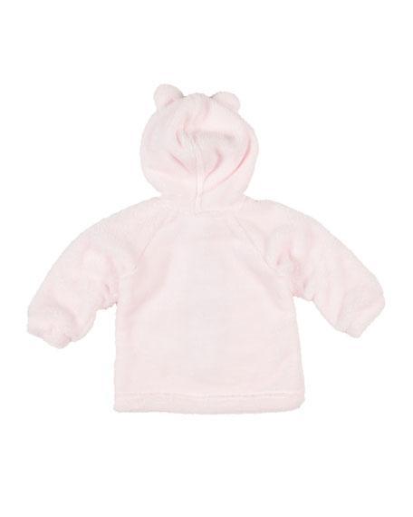 Florence Eiseman Plush Fleece Bear Hoodie, Size 3-12 Months