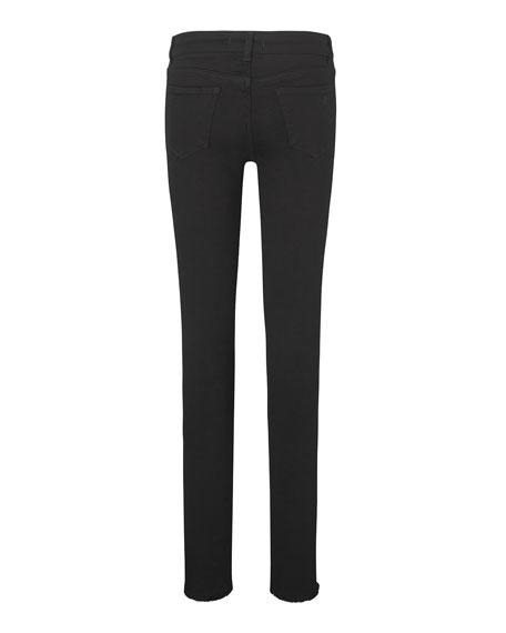 DL 1961 Girls' Chloe Nightstar Distressed Skinny Jeans, Size Youth 7-16