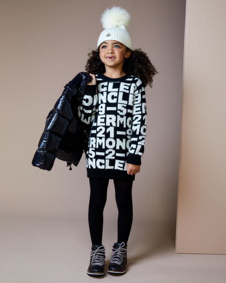 Image 2 of 3: Moncler Knit Sweater Dress, Size 4-6