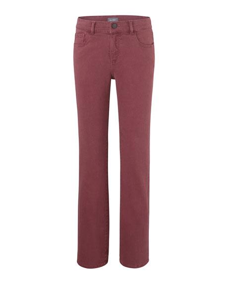 DL1961 Premium Denim Boy's Brady Slim Colored Denim Jeans, Size 8-16
