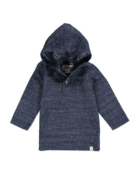 Me & Henry Hooded Woven Top w/ Children's Book, Size 2T-10