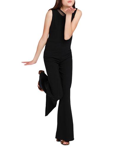 The Alexis Crepe Jumpsuit  Size S-XL