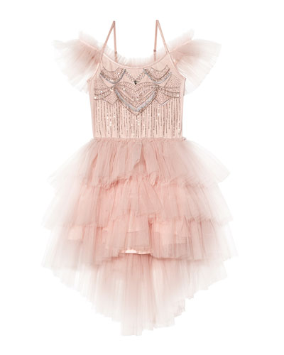 Girl's Bedazzle Tutu Dress  Size 2T-11