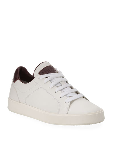 Boy's Leather Low-Top Sneakers  Kids