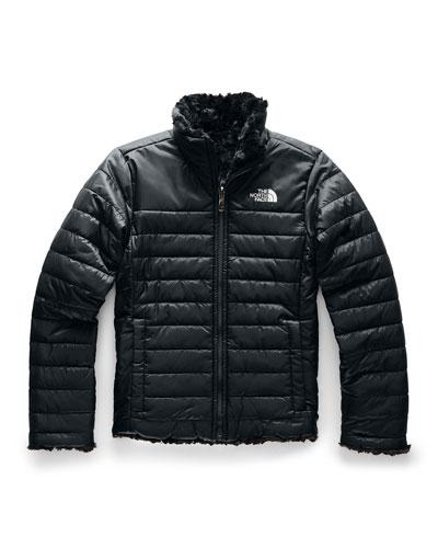Reversible Mossbud Swirl Jacket  Size XXS-XL