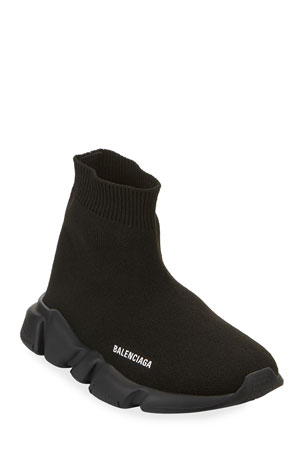 Balenciaga Speed Sock Sneakers with Tonal Sole, Toddler/Kids
