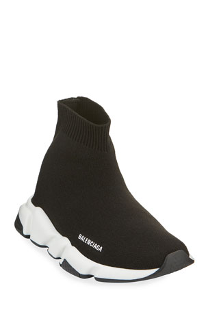 Balenciaga Speed Sock Sneakers, Toddler/Kids