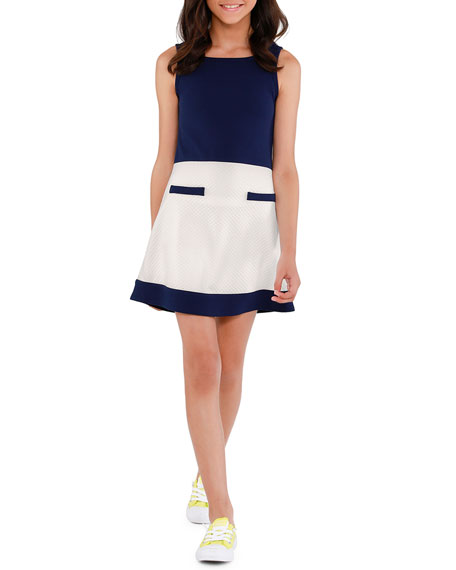 Sally Miller The Coco Colorblock Sleeveless Dress, Size S-XL