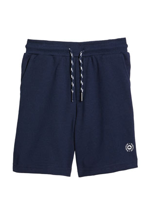 Mayoral Boy's Basic Fleece Drawstring Shorts, Size 4-7