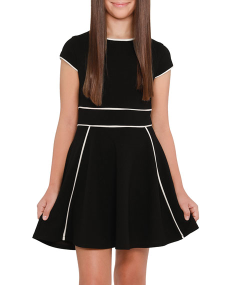 Image 1 of 2: Sally Miller Girl's The Tiffany Stretch Crepe Dress, Size S-XL