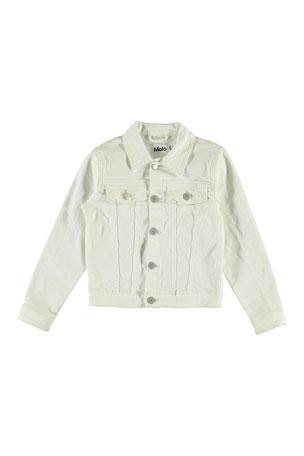 Molo Girl's Heidi Denim Jacket, Size 4-16