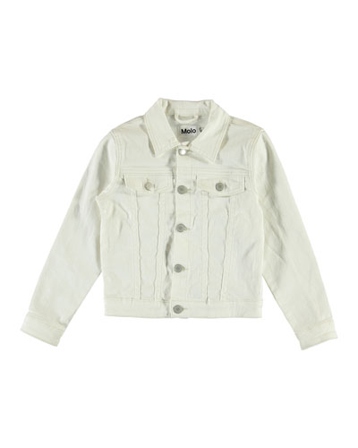 Girl's Heidi Denim Jacket  Size 4-16