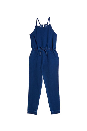 Habitual Girl's Loose Knit Jumpsuit, Size 7-14