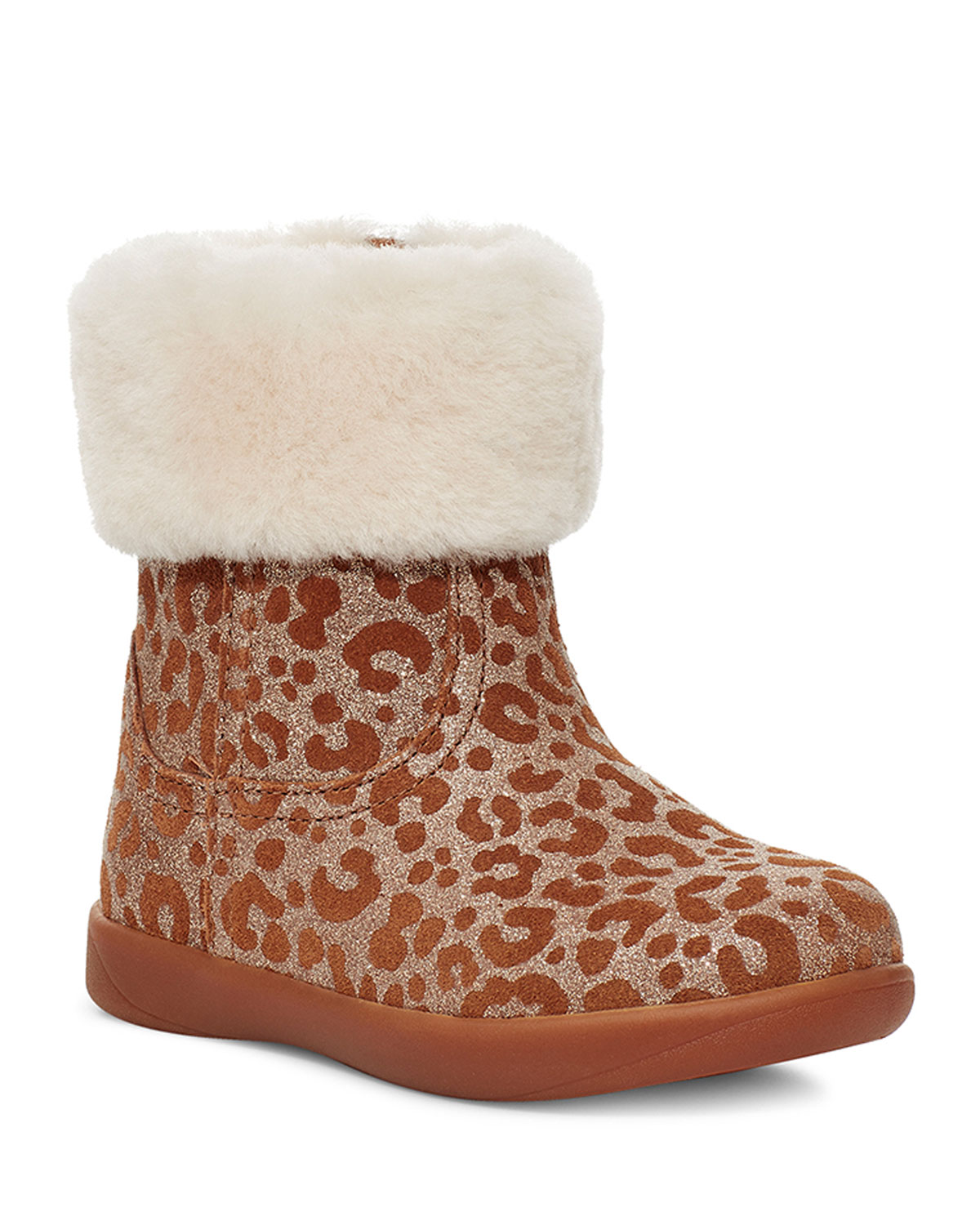 glitter baby boots