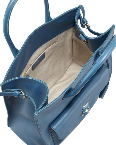Padlock All Time Tote Bag, Blue Paon