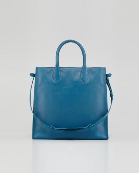 Padlock All Time Tote Bag, Blue Paon