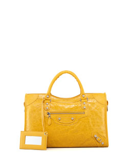 Balenciaga Giant 12 Nickel City Bag, Mangue